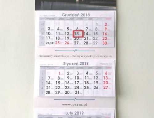 Kalendarze na2019 rok