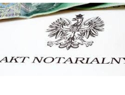 Dostępność online doskanów aktów notarialnych wpowiecie rzeszowskim